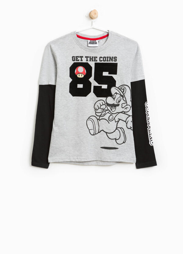 T-shirt in cotone stampa Super Mario | OVS