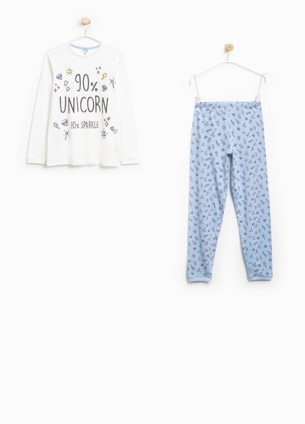 Patterned organic cotton pyjamas | OVS