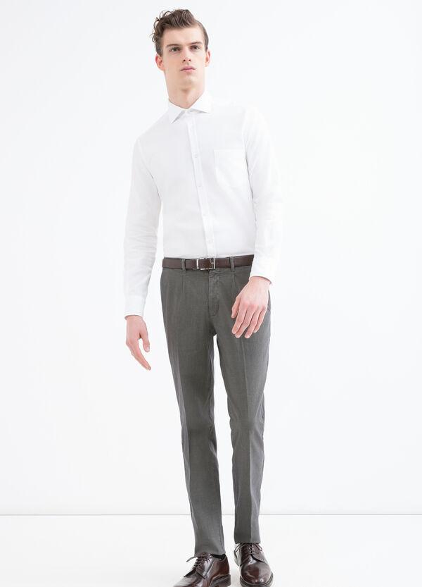 Camicia cotone bottoni Rumford | OVS