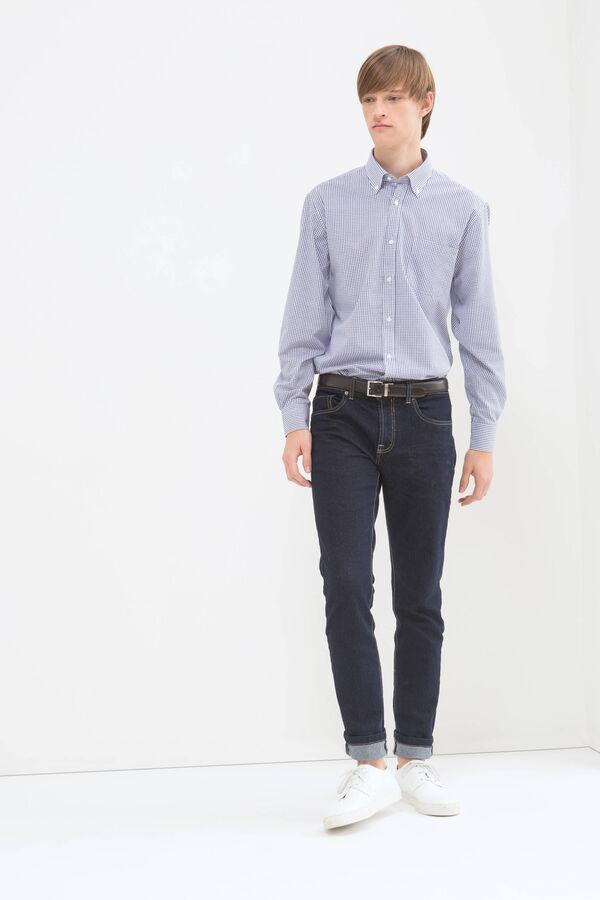 Camicia regular fit a quadretti | OVS
