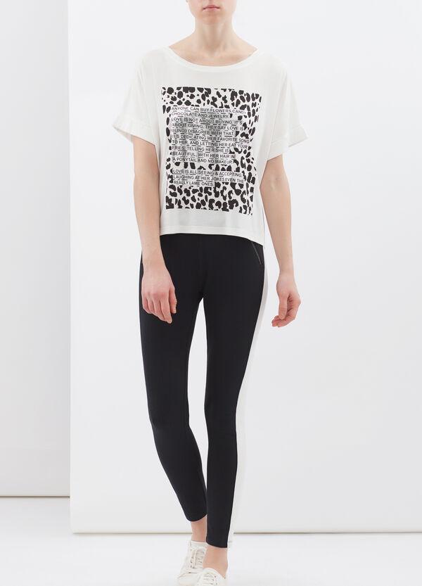 T-shirt sportiva pura viscosa | OVS