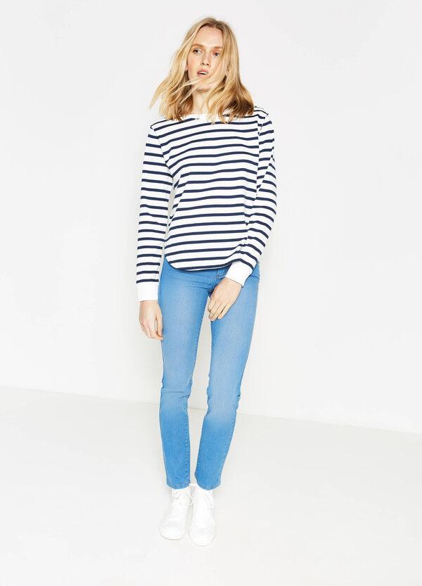 Jeans slim fit stretch effetto delavato | OVS