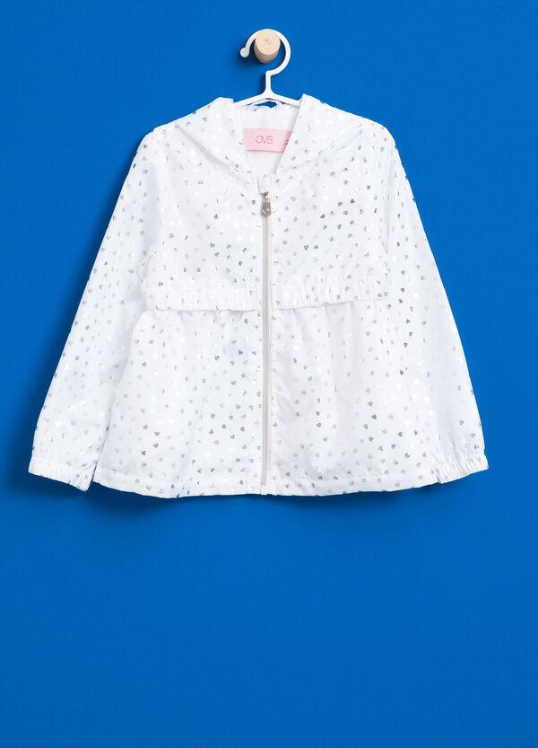 Shiny heart patterned jacket | OVS