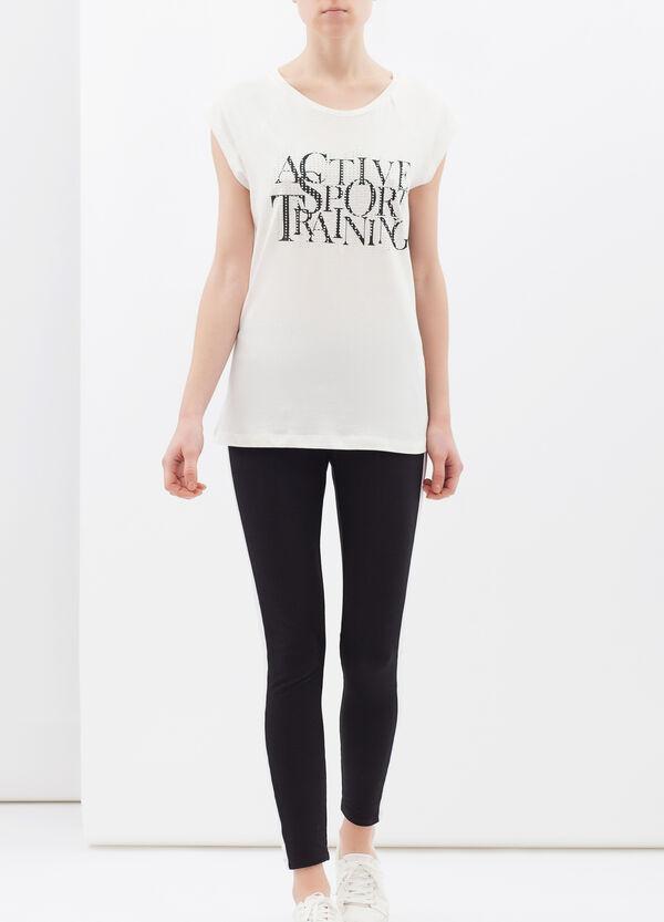 T-shirt puro cotone maniche raglan | OVS