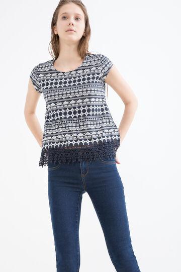 T-shirt cotone modal fantasia