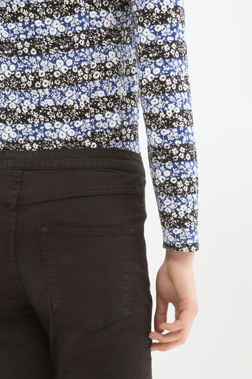 Pantaloni stretch vita alta