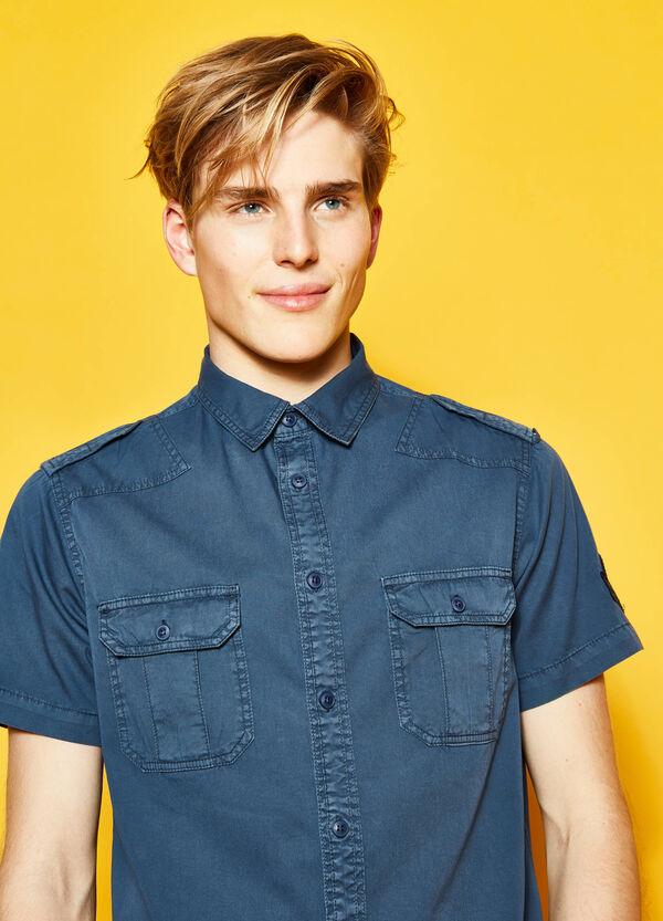 Camicia casual in twill di cotone G&H   OVS