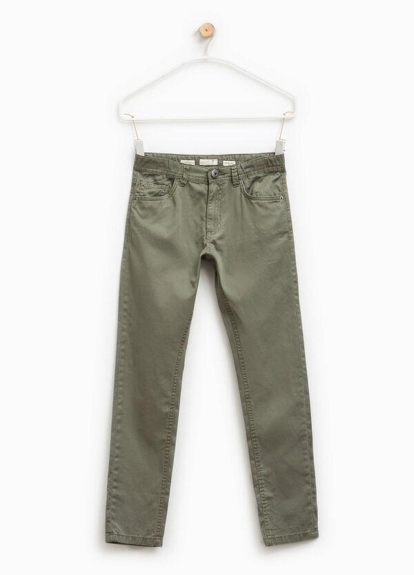 Pantaloni chino in puro cotone | OVS