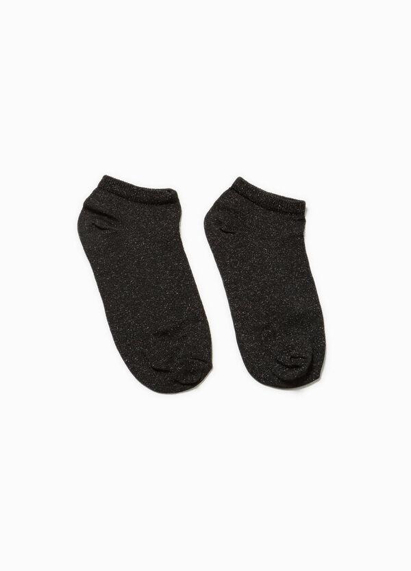 Calcetines cortos con lúrex | OVS