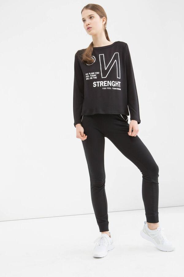 Leggings sportivi cotone stretch | OVS