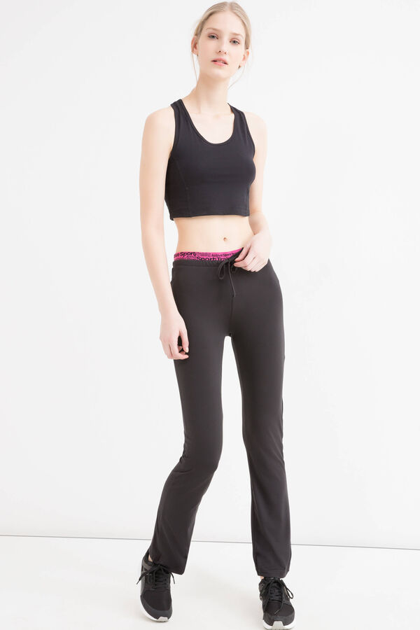 Pantaloni sportivi stretch stampa | OVS