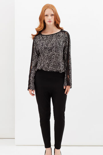 Curvyglam trousers with elastic