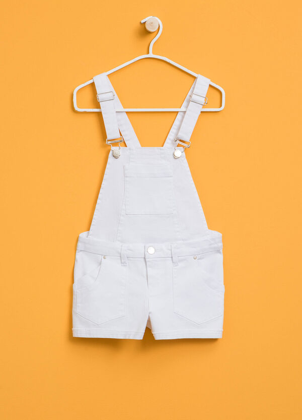Dungarees in stretch cotton | OVS