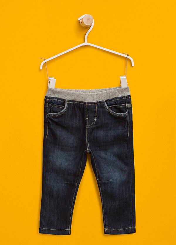 Jeans delavati con vita elasticata | OVS
