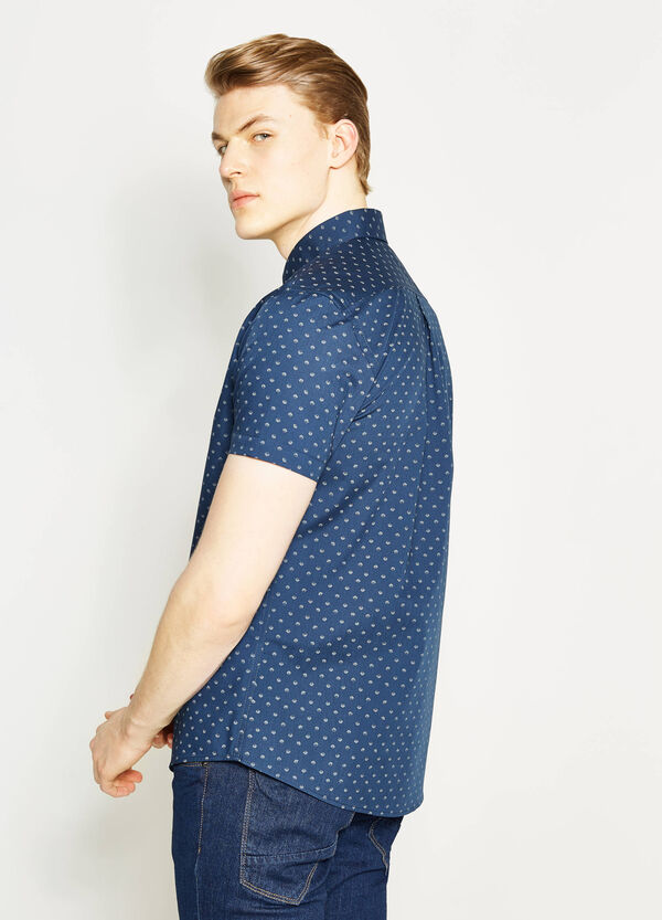 Camicia casual regular fit stampata   OVS