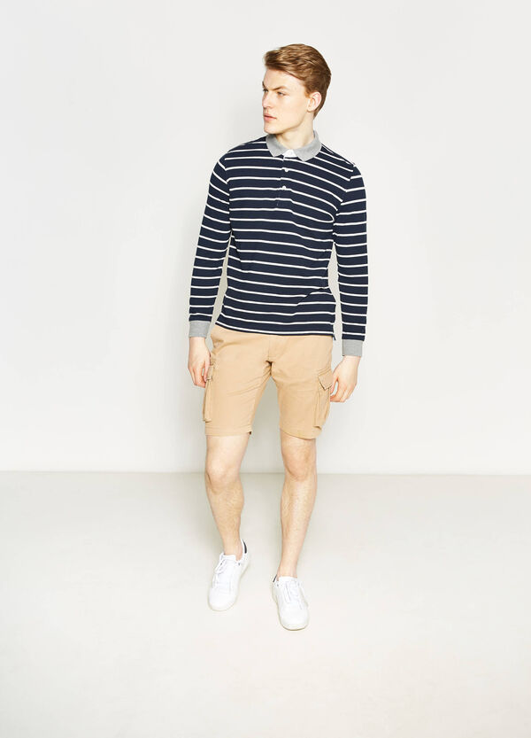 Regular-fit chino Bermuda shorts | OVS