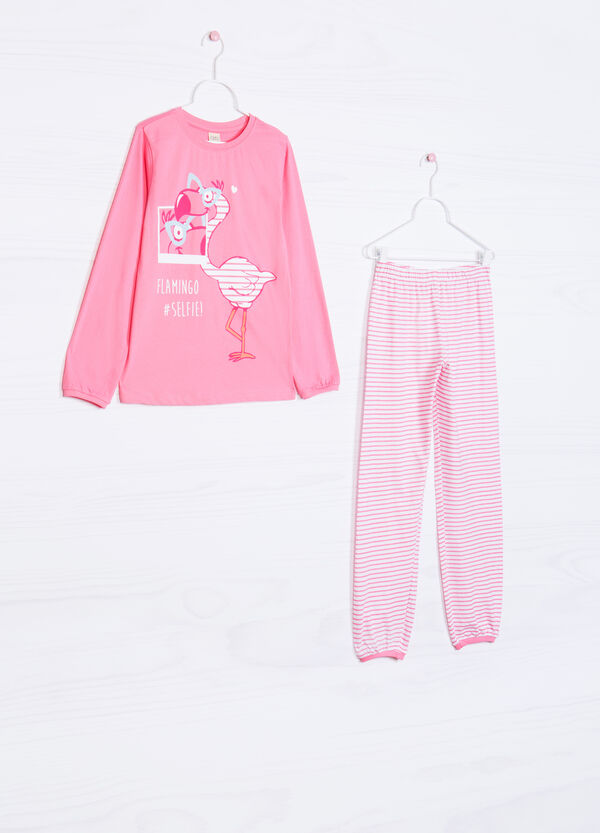 Printed pyjamas in 100% cotton | OVS