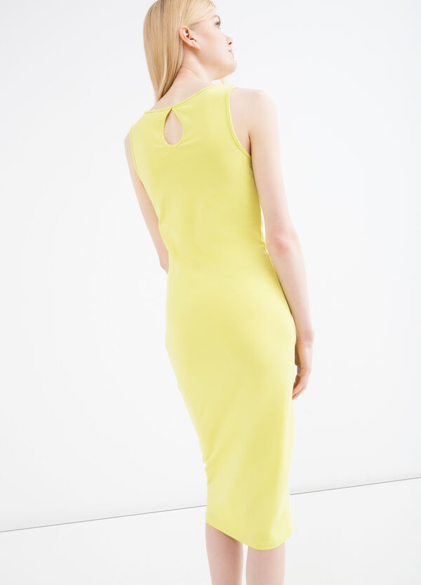 Stretch sleeveless pencil dress | OVS