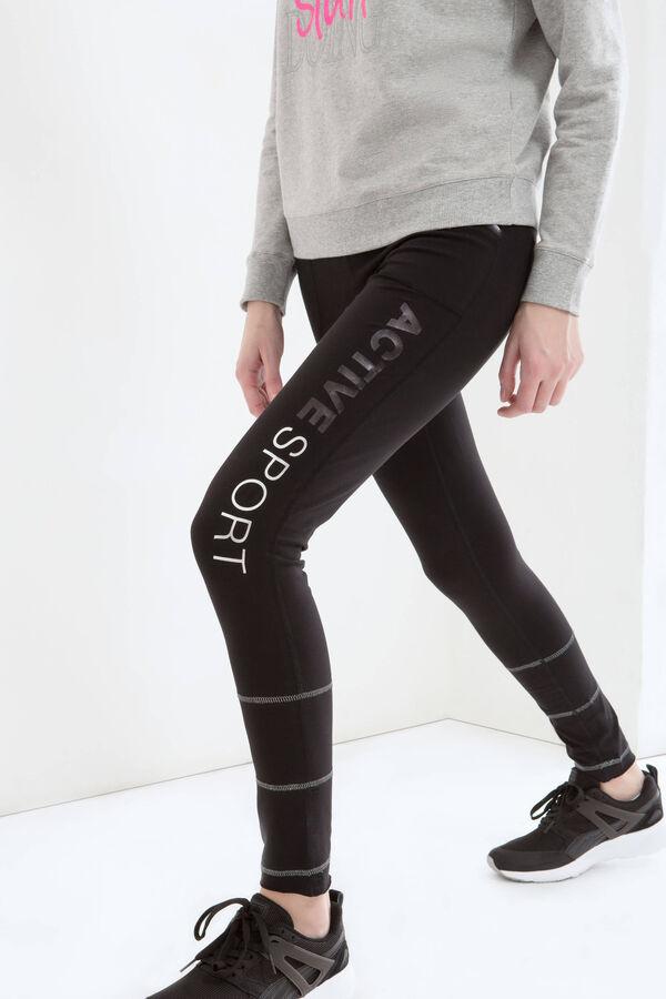 Pantaloni tuta cotone con stampa | OVS