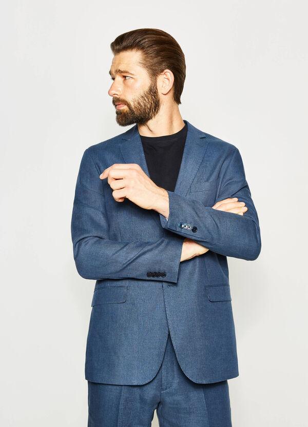 Chaqueta de vestir regular fit de lino | OVS