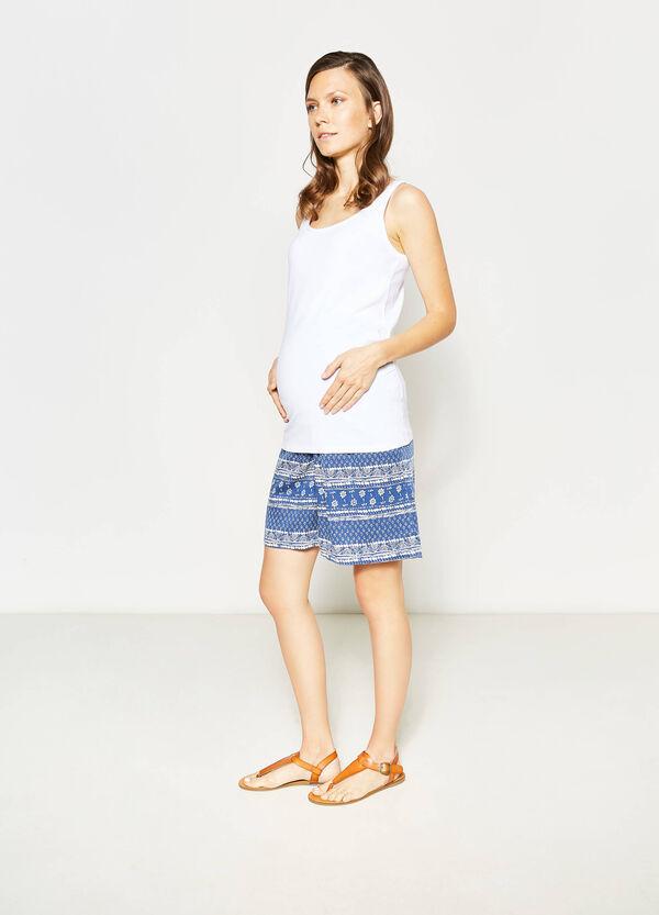 Shorts in viscosa fantasia MUM | OVS