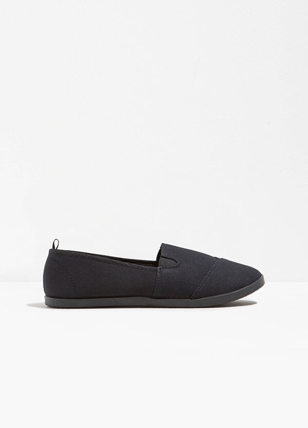 Canvas slip-ons with stitching | OVS