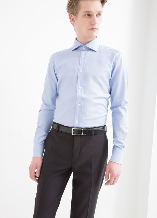 Camicia in cotone slim fit | OVS