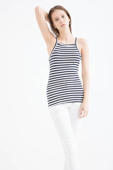 Striped, 100% cotton top