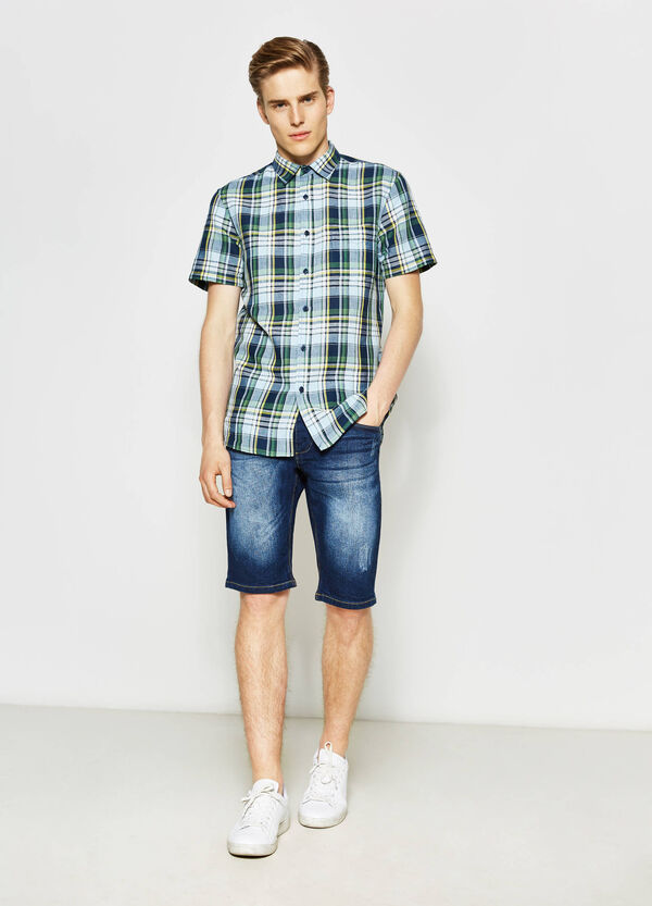 Camicia casual regular fit tartan   OVS