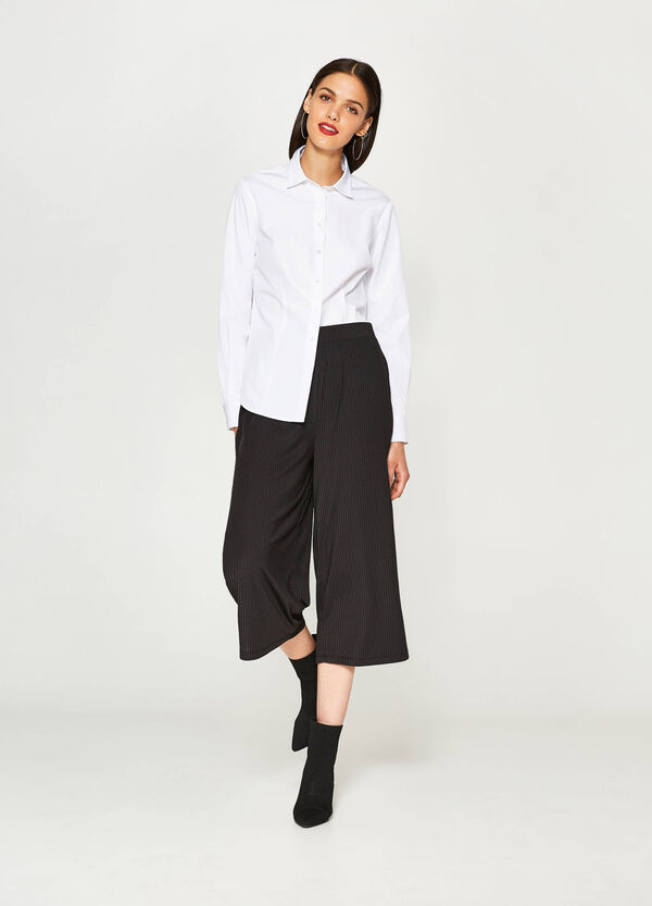Gaucho model striped trousers | OVS