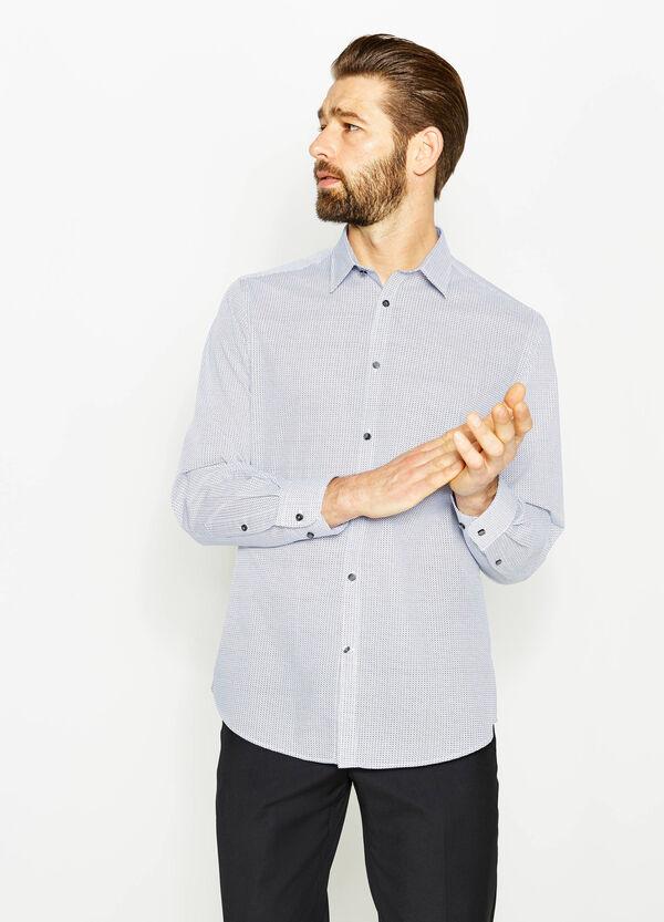 Regular-fit patterned formal shirt | OVS