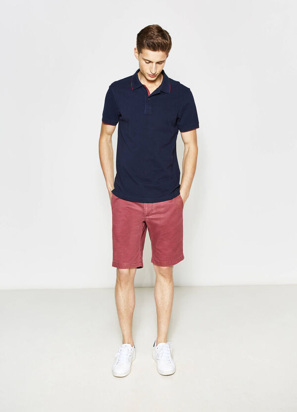 Bermuda chino regular fit in cotone | OVS