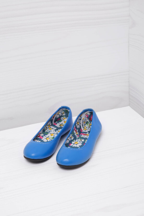 Ballerina flats with patterned inner | OVS