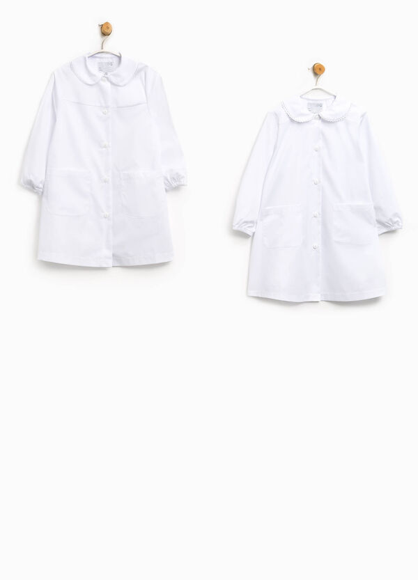 Pack of two smocks in cotton blend | OVS