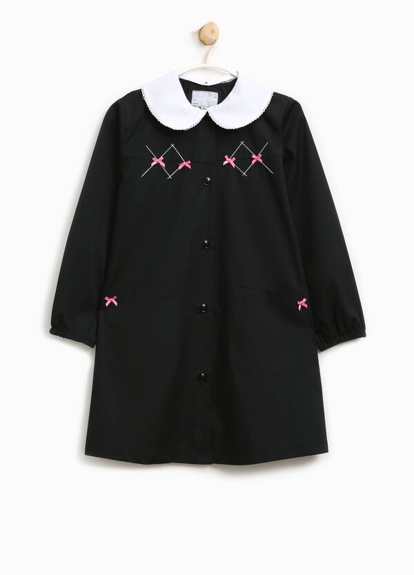 Cotton smock with bows | OVS