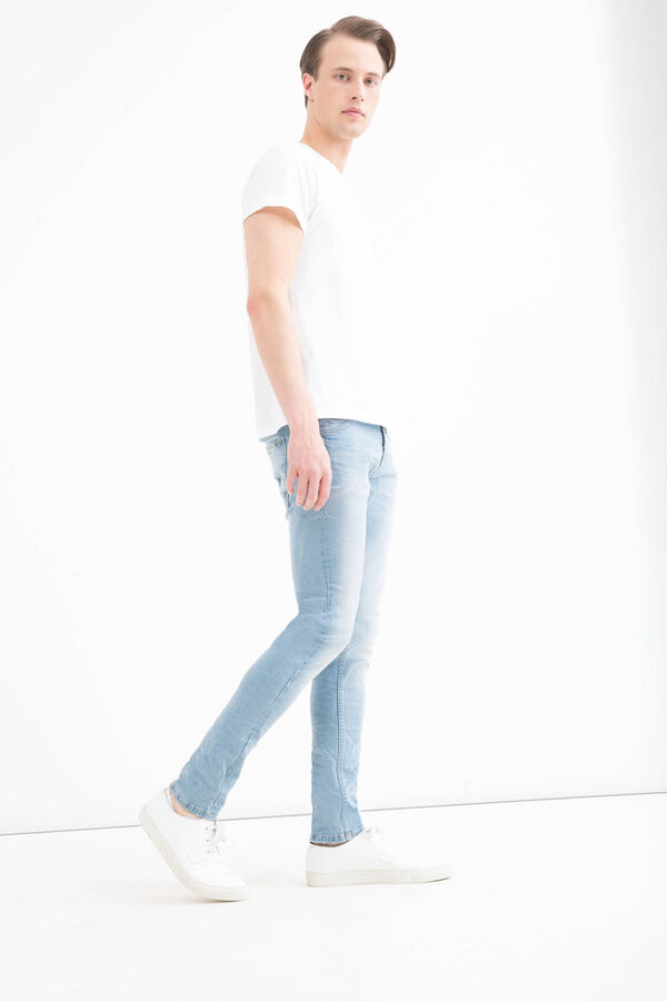 Faded effect jeans with super-skinny fit | OVS