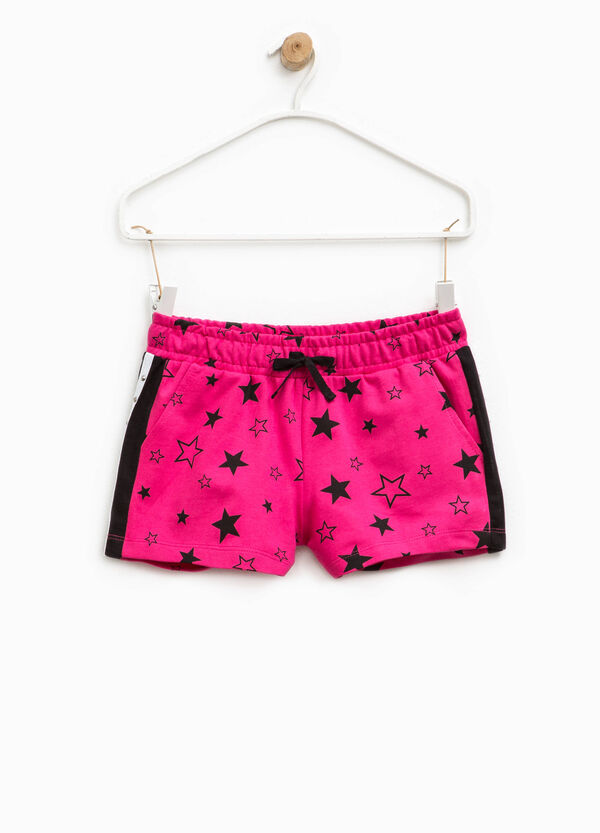 Patterned shorts with studs | OVS