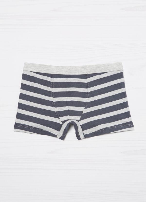 Boxer cotone stretch a righe | OVS