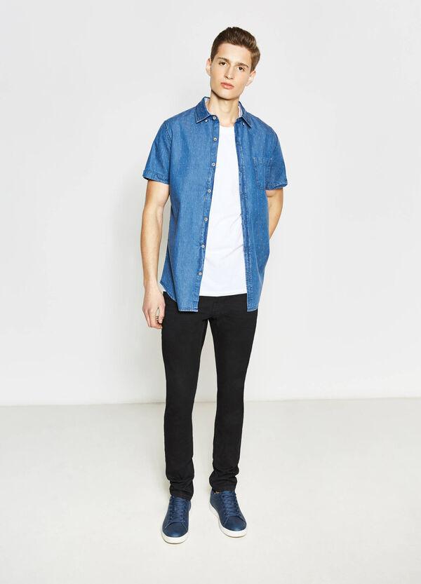 Camicia casual di jeans fantasia | OVS