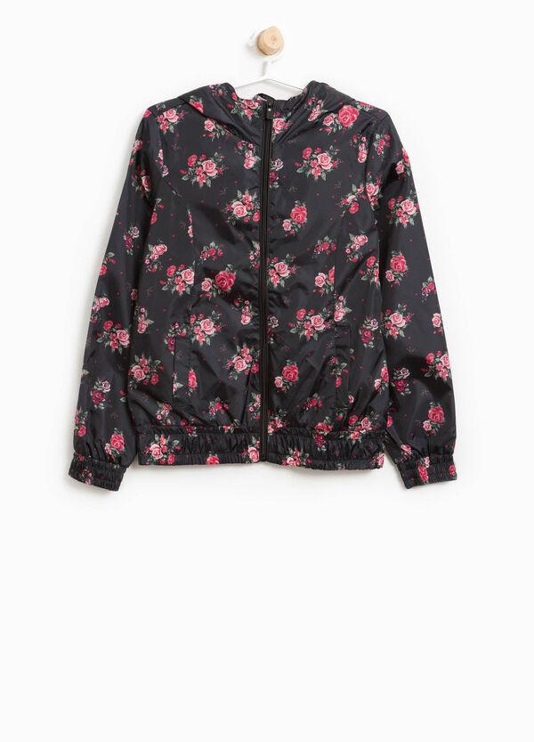 Giubbino floreale con cappuccio | OVS