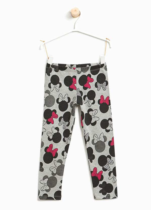 Stretch leggings with Minnie Mouse pattern | OVS