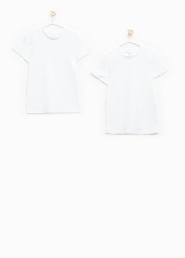 Two-pack solid colour cotton undershirts | OVS