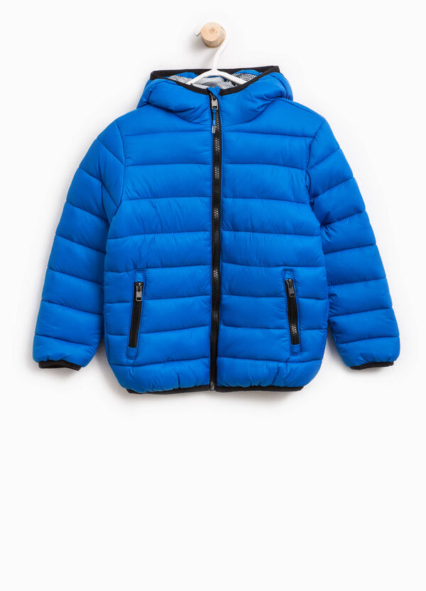 Down jacket with contrasting trim | OVS