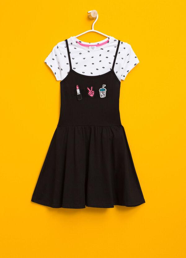 Completo t-shirt e vestitino in cotone | OVS