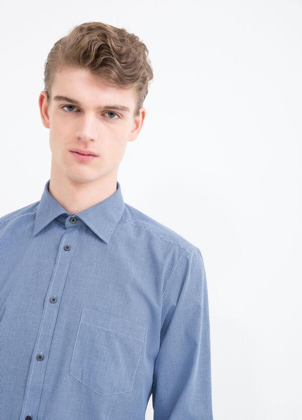 Camicia a quadretti slim fit | OVS