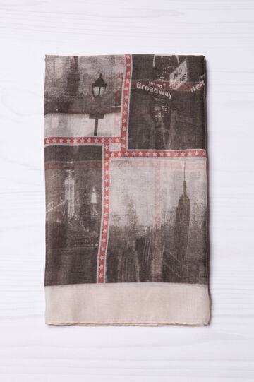 City print scarf