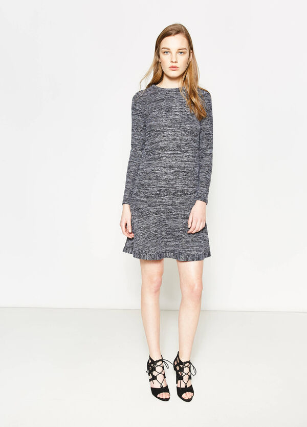 Mélange viscose dress | OVS