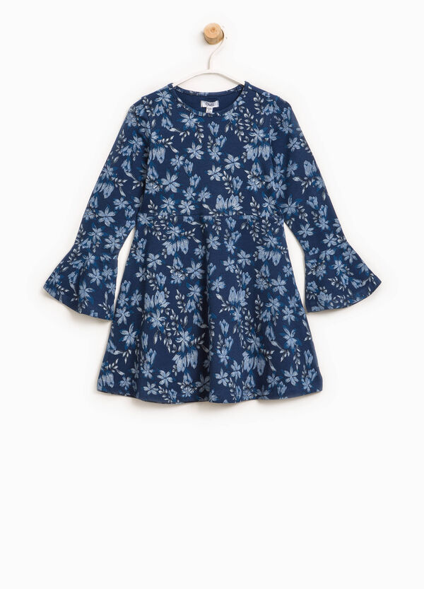 Cotton dress with floral pattern | OVS
