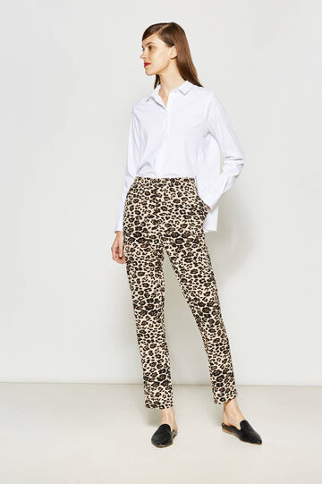 Pantaloni fantasia animalier