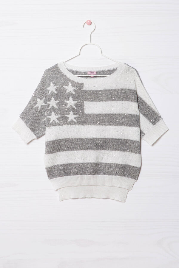 Pullover tricot maniche al gomito | OVS